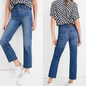 Madewell Classic Straight Jeans in Fawn Wash